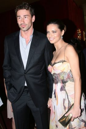 Adriana Lima eloped with her then boyfriend of three years Marko Jaric on Valentine's Day 2009. Unfortunately, the couple split 5 years later. (Photo: WENN)