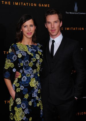 Benedict Cumberbatch married Sophie Hunter on V'Day 2015! She was pregnant at the time. The couple welcomed their first son just four months later. (Photo: WENN)