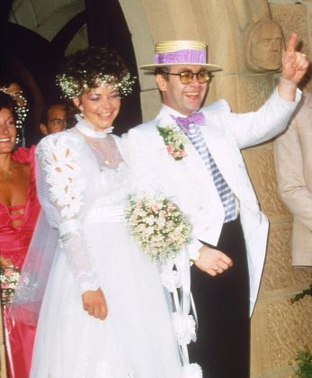 Before marrying David Furnish, Elton John wedded Renate Blauel on Valentine's Day 1984. They were together until 1988—for obvious reasons. (Photo: WENN) *****