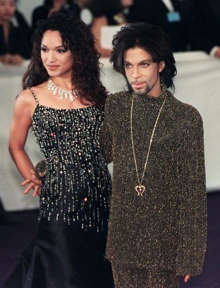 Prince and American dancer Mayte Garcia married live on the internet on February 14, 1996. On their third wedding anniversary, the pair annulled their marriage. (Photo: WENN) *****