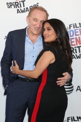 Salma Hayek was a Valentine's Day bride for her nuptials to French billionaire Francois-Henri Pinault in 2009. The couple exchanged vows in Paris. (Photo: WENN)