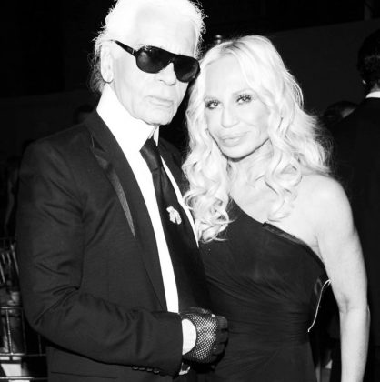 "Italian Designer Donatella Versace also took to Instagram. ""Your genius touched the lives of so many, especially Gianni and I. We will never forget your incredible talent and endless inspiration. We were always learning from you."" (Photo: Instagram)"