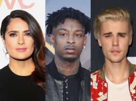 From 21 Savage, to Melania Trump, to Justin Bieber, here's a list of some celebrities who had trouble with immigration law and could have been or were deported. (Photo: WENN)