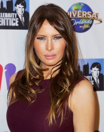 Melania Trump, now the first Lady of the country, came to the US from Slovenia in the 90's. The Associated Press reports she used to earn up to $20,000 before getting her working visa. This activity alone could've have had her deported. (Photo: WENN)