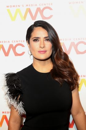 "Mexican star Salma Hayek admitted to her struggle for legal status. ""I was an illegal immigrant in the United States. It was for a small period of time, but I still did it."" (Photo: WENN)"