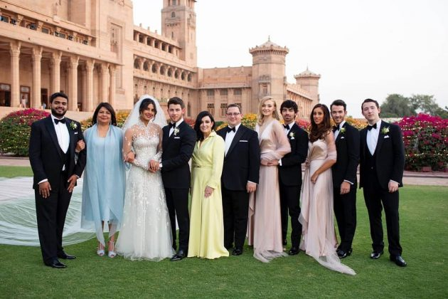 Danielle Jonas did, however, flight to India to attend Nick Jonas and Priyanka Chopra's wedding. (Photo: Instagram)