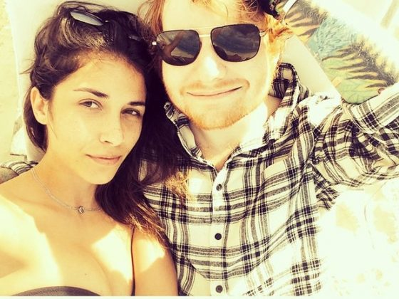 Prior to his relationship with Seaborn, Ed Sheeran romanced Athina Andrelos. (Photo: Instagram)