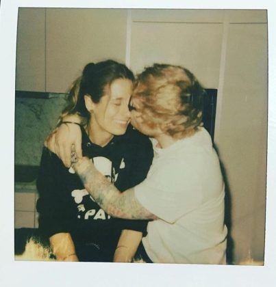 In January 2018, Sheeran announced he was engaged to Seaborn. (Photo: Instagram)