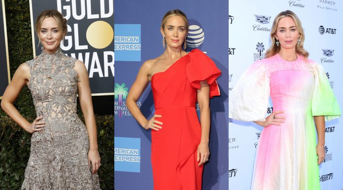 There's only one appropriate word to describe Emily Blunt's best red carpet looks: supercalifragilisticexpialidocious. (Photo: WENN)