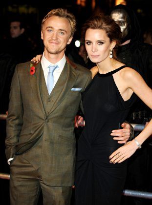 Tom Felton is no longer with his long-time partner Jade Olivia. (Photo: WENN)
