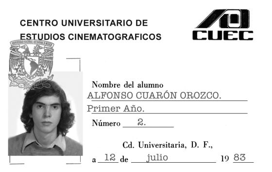 Cuaron was expelled from film school. Cuaron says the reason he was kicked out was because he questioned the ways of doing films and didn't want to subscribe to certain ways the school had at the time. (Photo: Instagram)