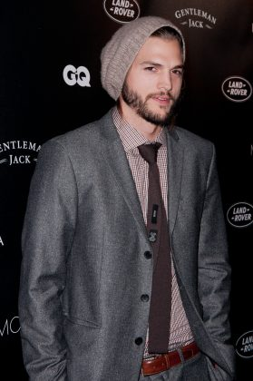 His full name is Christopher Ashton Kutcher. Which proves ALL Chris in Hollywood (Pine, Evans, Pratt) are H-O-T. (Photo: WENN)