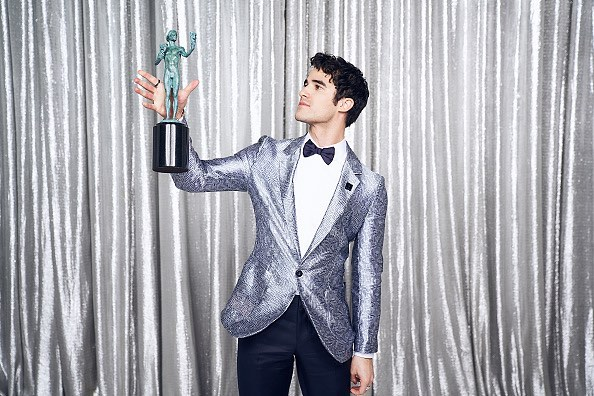 "Criss scored an Emmy nod for his role as serial killer Andrew Cunanan, but it wasn't his first nomination. An original song he wrote for ""Glee"", ""This Time"" scored and Emmy nomination for outstanding original music and lyrics. (Photo: Instagram)"