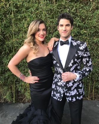 He's taken! Though Criss found fame playing gay characters, he is straight. Darren Criss has been with director and producer Mia Swier for several years. After over seven years together, in January 2018, he announced he was engaged to Mia! (Photo: Instagram)