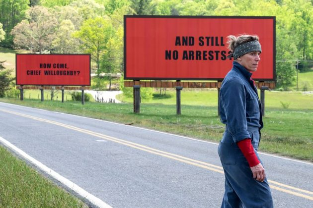 'Three Billboards Outside Ebbing, Missouri' lost to 'The Shape of Water' at the 90th Academy Awards. (Photo: Release)