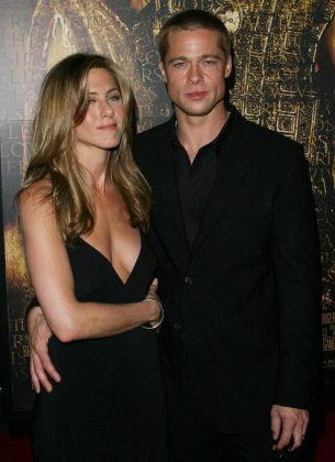 Jenn and Brad Pitt started dating in 1998 and tied the knot in 2000. The actors shocked the world, however, when they separated in 2005 amid rumors he had cheated with Angelina Jolie. Brad and Angie began dating soon after his split. (Photo: WENN)