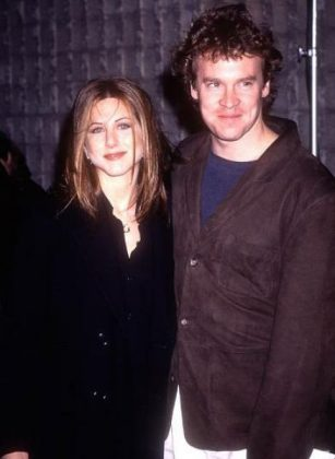 "Tate Donovan landed a six-episode arc on Friends in 1998. The gig, however, was bittersweet as he and Aniston were splitting at the same time! ""That was tricky to sort of act,"" he recalls. ""That was just tough."" (Photo: WENN)"