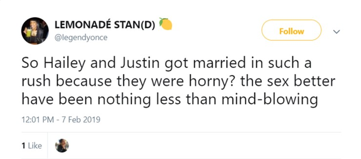 Was it, Justin? Was it? (Photo: Twitter)