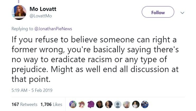 Social justice culture will fail because it doesn't believe in atonement. (Photo: Twitter)