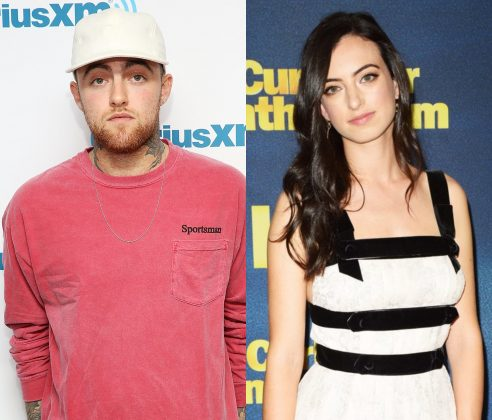 Mac Miller and Cazzie David became friends after their splits with Ariana Grande and Pete Davidson. (Photo: WENN)