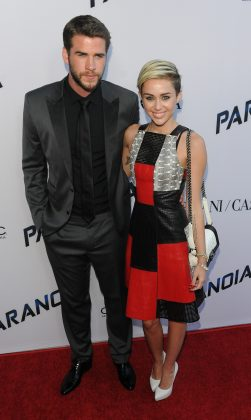 Liam and Miley have been in an on-again-off-again relationship since 2009. (Photo: WENN)