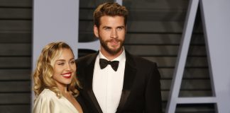Miley Cyrus is now Miley Hemsworth. (Photo: WENN)