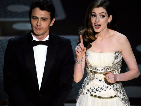 James Franco was nearly comatose. Anne Hathaway overcompensated by being mind-numbingly perky. And a pairing that didn't make a lot of sense of paper ended up making no sense at all on stage. (Photo: WENN)