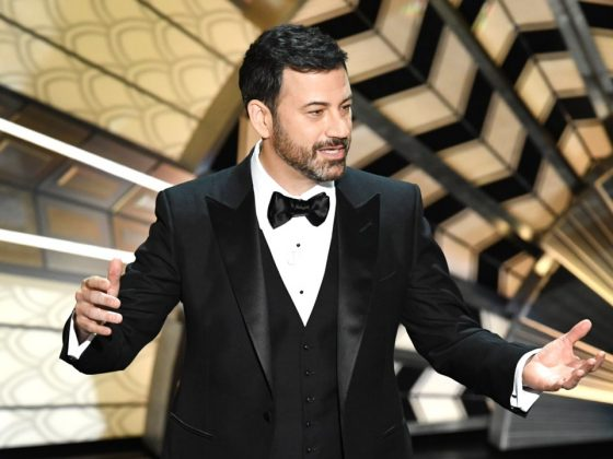 Jimmy Kimmel fulfilled his destiny as a late-night host by hosting the show in 2017. He was generally well-received with playful gags like letting tourists into the theater. (Photo: Release)