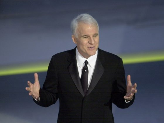 Steve Martin was an absolute success when hosting the awards show on his own. His humor was warm and even when he poked fun at others, audiences seemed to like him. (Photo: Release)
