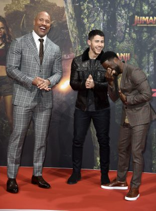 "He recently starred in the reboot of ""Jumanji"" alongside Dwayne Johnson and Jack Black. (Photo: WENN)"