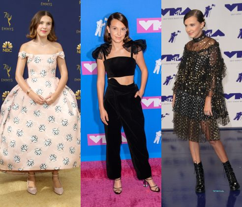 These 12 pictures of the best red carpet looks by Millie Bobby Brown are just a friendly reminder that she invented fashion 15 years ago. (Photo: WENN)