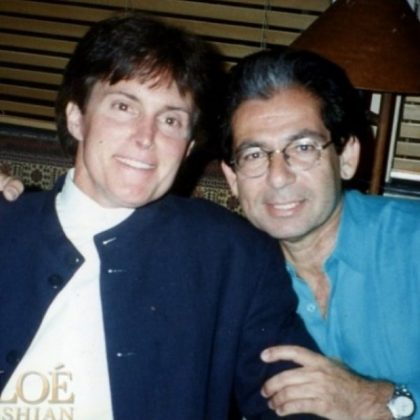 Rob Kardashian and Bruce Jenner posing for a friendly picture. (Photo: Instagram)