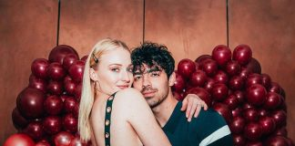 Joe Jonas and Sophie Turner celebrating Valentine's Day. (Photo: Instagram)