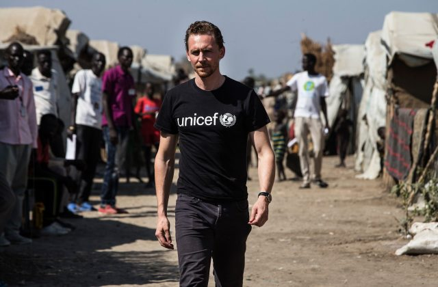 Tom's heart is in the right place. He is the UNICEF UK ambassador advocating for children in need. (Photo: WENN)