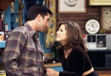 With so many examples of healthy and beautiful relationships on 'Friends,' why did the show spend so much time focusing on Rachel and Ross? For years they butted into each other's lives and ensured their mutual unhappiness and loneliness. (Photo: Release)