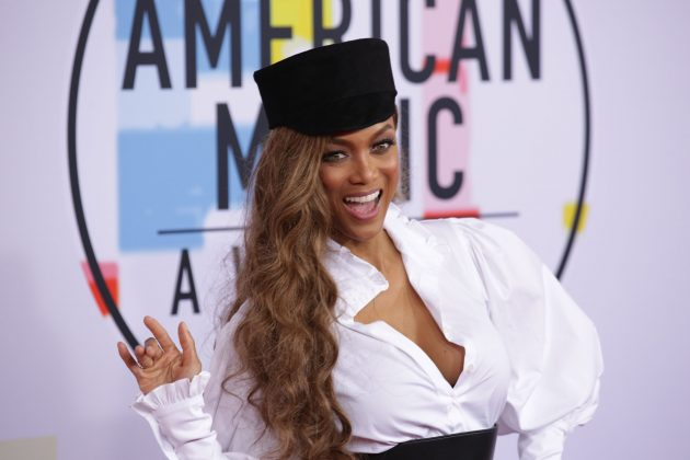 Tyra Banks is creating a modeling-themed amusement park. (Photo: WENN)