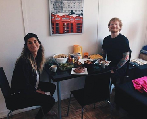 She is 26 years old. Cherry Seaborn was born on May 6, 1992. She is 2 years younger than Ed. (Photo: Instagram)