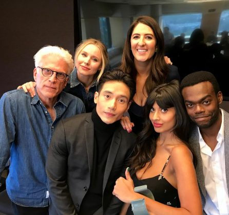 "Before being cast in 'The Good Place,' Jamil had never appeared in a script TV show. In fact, the Netflix series was the first series she ever auditioned for. She said that she had ""beginner's luck,"" adding that she never intended to be an actress. (Photo: Instagram)"