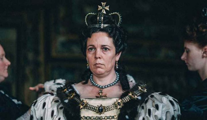 """She put on a lot of weight for her role in 'The Favourite'. Colman gained 35 pounds to play Queen Anne. """"I didn't want to use prosthetics, so I spent a few months eating, which was enjoyable, but then became quite depressing."""" (Photo: Release)"""