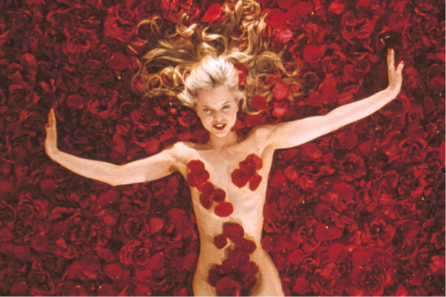 """""""American Beauty"""" (1999). This dark satire of suburbia is OK, but lacks the edginess of films that cover similar ground by David Lynch and Todd Solondz. (Photo: Release)"""