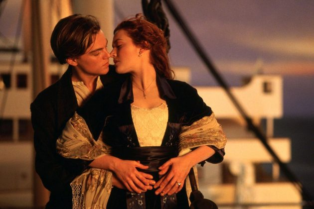"""""""Titanic"""" (1997). James Cameron's love story on the doomed ship was a box-office sensation that made Leo and Kate superstars. But best picture winner? We don't think so. (Photo: Release)"""