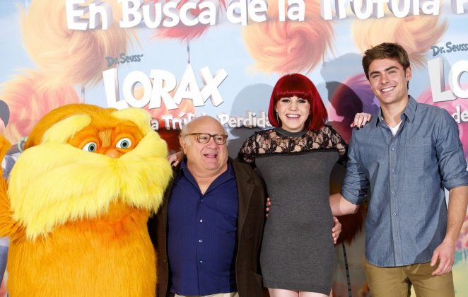 Zac Efron has a history with animation, voicing Ted in 'The Lorax.' (Photo: Release)