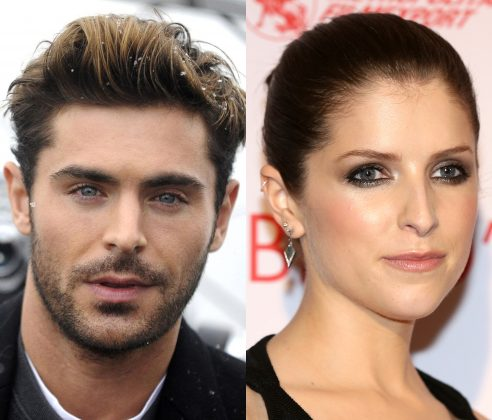 Zac Efron and Anna Kendrick will share credits in 'Human Discoveries'. (Photo: WENN)