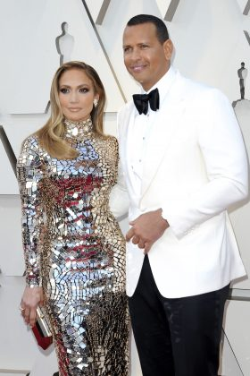 Jennifer Lopez and Alex Rodriguez started dating in February 2017. They made their red-carpet debut at the Met Gala that year, and got engaged in March 2019. (Photo: WENN)