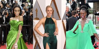 Click to check out which celebrities have stunned in green and avoided being pinched on St. Patrick's Day. (Photo: WENN)