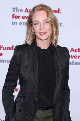 "Uma Thurman claims Weinstein pushed her down and ""tried to expose himself"" at his hotel in London during the 90's. ""He tried to shove himself on me… He did all kinds of unpleasant things."" (Photo: WENN)"