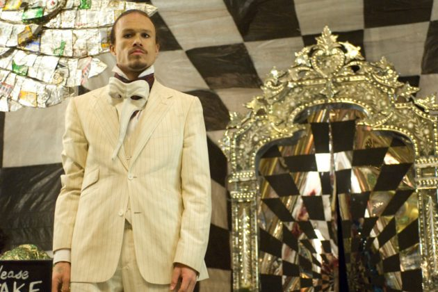 Heath Ledger died on 2008 while filming 'The Imaginarium of Doctor Parnassus.' Conveniently, it made sense of his character to chance appearances as he travelled through a dream world. Johnny Depp, Colin Farrell and Jude Law stepped in to complete the movie. (Photo: Release)