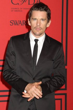 """Sexual fidelity can't be the whole thing you hang your relationship in,"" Ethan Hawke said about monogamy. ""If you really love somebody you want them to grow, but you don't get to define how that happens. They do,"" he added. (Photo: WENN)"