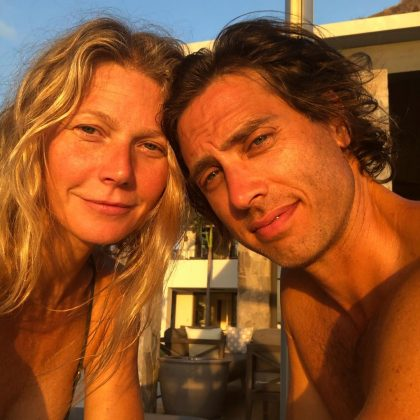 Gwyneth Paltrow has been engaged to two Brads. The Goop queen got engaged to now-husband Brad Falchuk in 2013. Prior to that, she was married to Coldplay's Chris Martin and was also engaged to Brad Pitt in the 90's.