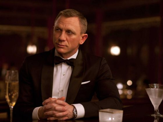"""Daniel Craig is no doubt tired of the Bond series. When asked if he could play 007 again, he said: """"Now? I'd rather break this glass and slash my wrists. No, not at the moment… All I want to do is move on."""" (Photo: Release)"""